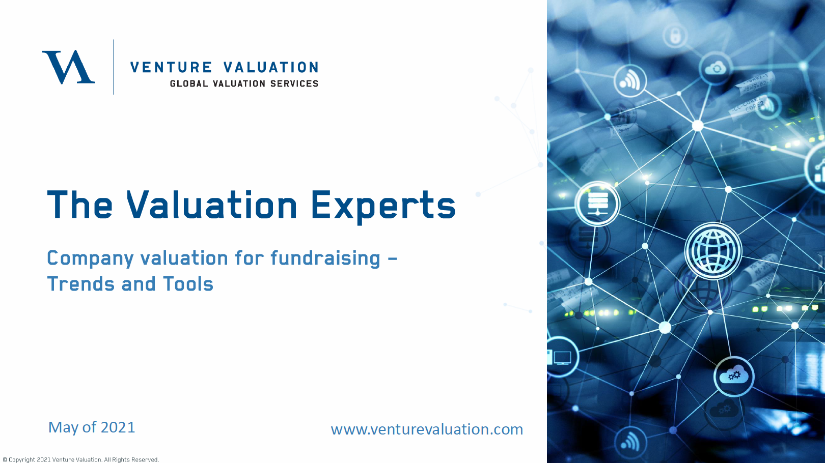 Workshop: Company Valuation for Fundraising – Trends & Tools